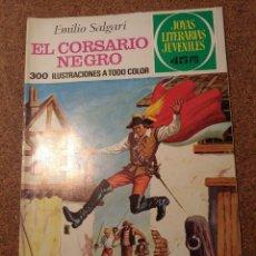 Tebeos: COMIC DE JOYAS LITERARIAS JUVENILES EL CORSARIO NEGRO DEL AÑO 1977 Nº 86. Lote 222899582