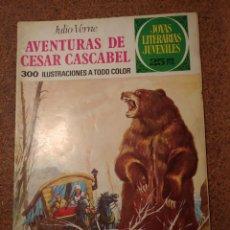 Tebeos: COMIC DE JOYAS LITERARIAS JUVENILES AVENTURAS DE CESAR CASCABEL DEL AÑO 1977 Nº 104. Lote 222899703