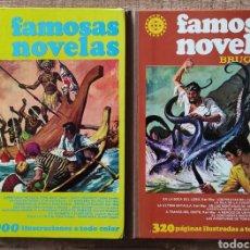 Tebeos: FAMOSAS NOVELAS TOMOS IV Y XIV. BRUGUERA. Lote 222930646