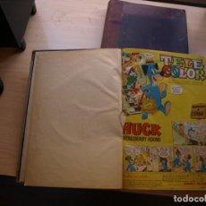 Livros de Banda Desenhada: TELE COLOR - DOS TOMOS CÓN LOS NUMEROS DEL Nº 1 AL Nº 50 MAS EL ALMANAQUE PARA 1964. Lote 223080286