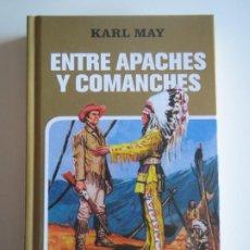 Tebeos: ENTRE APACHES Y COMACHES KARL MAY CLASICOS JUVENILES COLECCION HISTORIAS SELECCION 2008 EDICIONES B. Lote 223223028