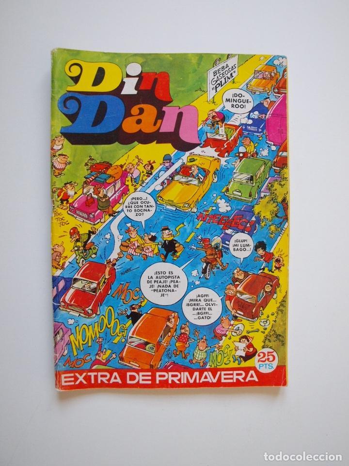 DIN DAN EXTRA DE PRIMAVERA - BRUGUERA 1973 - 25 PTAS. (Tebeos y Comics - Bruguera - Din Dan)