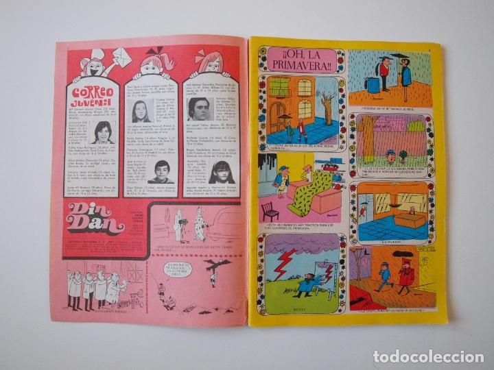 Tebeos: DIN DAN EXTRA DE PRIMAVERA - BRUGUERA 1973 - 25 PTAS. - Foto 2 - 223256283