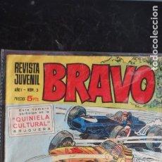 Tebeos: BRAVO Nº 3. Lote 223369125