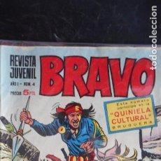 Tebeos: BRAVO Nº 4. Lote 223369270