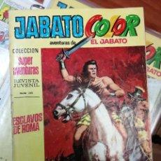 Tebeos: JABATO COLOR - NUMERO 1 - PRIMERA EPOCA - ESTADO MUY BUENO. Lote 223395145