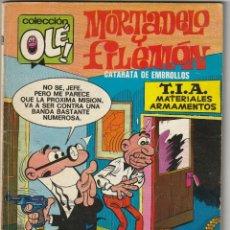 Tebeos: Nº 100 MORTADELO Y FILEMON .PRIMERA EDICIÓN OLE.BRUGUERA.1974.40 PTAS. Lote 223427073