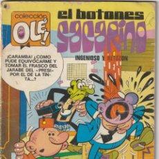 Tebeos: EL BOTONES SACARINO INGENIOSO Y RETOZÓN. BRUGUERA 1978. 60 PTAS. Lote 223428485