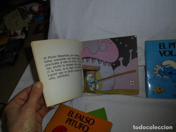 Tebeos: 4 MINICUENTOS PITUFOS Nº 2-3-4-5.BRUGUERA 1981.-1ª EDICION - Foto 9 - 223486772
