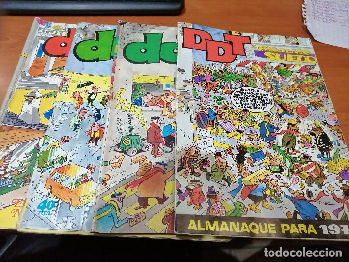 DDT 4 ALMANAQUES Y EXTRAS - BUEN ESTADO (Tebeos y Comics - Bruguera - DDT)