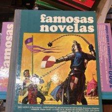 Tebeos: FAMOSAS NOVELAS - TOMO II - BRUGUERA - PRIMERA EDICIÓN. Lote 223535170