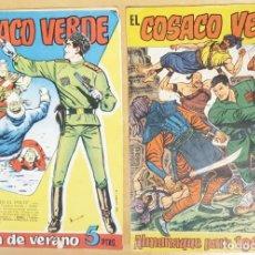 BDs: LOTE EL COSACO VERDE 1 EXTRA DE VERANO Y 1 ALMANAQUE. Lote 223566877