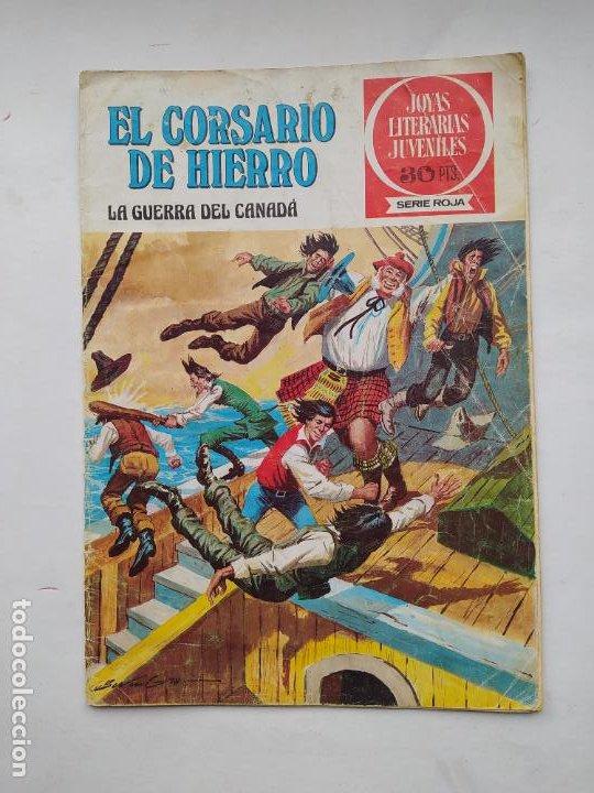 EL CORSARIO DE HIERRO JOYAS LITERARIAS JUVENILES SERIE ROJA Nº 29 EDITORIAL BRUGUERA. TDKC86 (Tebeos y Comics - Bruguera - Corsario de Hierro)