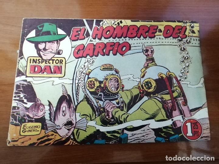 INSPECTOR DAN 47 - ORIGINAL DE EPOCA - BUEN ESTADO (Tebeos y Comics - Bruguera - Inspector Dan)