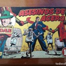 Tebeos: INSPECTOR DAN 62 - ORIGINAL DE EPOCA - BUEN ESTADO. Lote 223671732