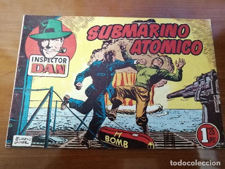 INSPECTOR DAN 61 - ORIGINAL DE EPOCA - BUEN ESTADO (Tebeos y Comics - Bruguera - Inspector Dan)
