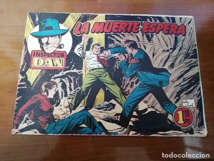 INSPECTOR DAN 72 - ORIGINAL DE EPOCA - BUEN ESTADO - ULTIMO DE LA COLECCION - MUY DIFICIL (Tebeos y Comics - Bruguera - Inspector Dan)