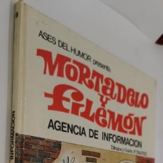 Tebeos: MORTADELO Y FILEMON, AGENCIA INFORMACION, Nº 8, BRUGUERA, 1971 PRIMERA EDICION. Lote 223774460