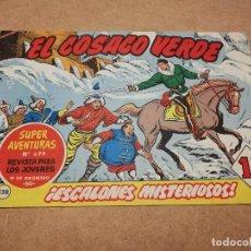 Tebeos: EL COSACO VERDE Nº 138 !ESCALONES MISTERIOSOS!. Lote 223869352