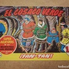 Tebeos: EL COSACO VERDE Nº 136 ¡FAN - TAN!. Lote 236260885