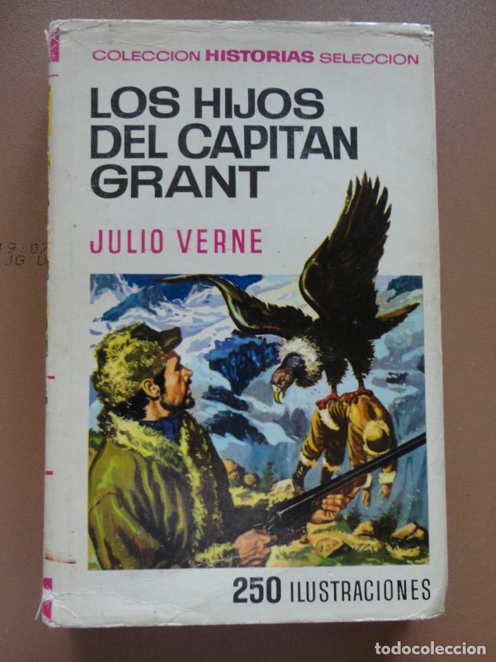 COLECCIÓN HISTORIAS SELECCIÓN-SERIE JULIO VERNE -8 LOS HIJOS DEL CAPITÁN GRANT (Tebeos y Comics - Bruguera - Historias Selección)