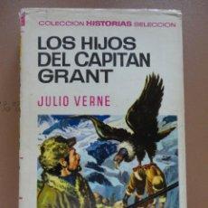 Tebeos: COLECCIÓN HISTORIAS SELECCIÓN-SERIE JULIO VERNE -8 LOS HIJOS DEL CAPITÁN GRANT. Lote 223935748