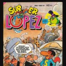 Giornalini: SUPER LÓPEZ - BRUGUERA / NÚMERO 1. Lote 223987217