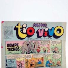Tebeos: MINI TÍO VIVO. REVISTA JUVENIL AÑO 1, Nº 22. 16 DE JUNIO DE 1975 (VVAA) BRUGUERA, 1975. Lote 224010536