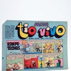 Tebeos: MINI TÍO VIVO. REVISTA JUVENIL AÑO 1, Nº 10. 24 DE MARZO DE 1975 (VVAA) BRUGUERA, 1975. Lote 224010541