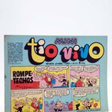 Tebeos: MINI TÍO VIVO. REVISTA JUVENIL AÑO 1, Nº 9. 17 DE MARZO DE 1975 (VVAA) BRUGUERA, 1975. Lote 224010545