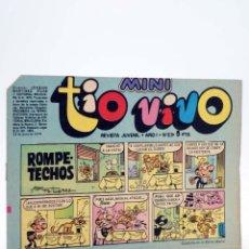 Tebeos: MINI TÍO VIVO. REVISTA JUVENIL AÑO 1, Nº 23. 23 DE JUNIO DE 1975 (VVAA) BRUGUERA, 1975. Lote 224010546