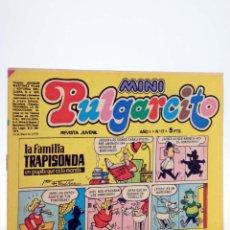 Tebeos: MINI PULGARCITO. REVISTA JUVENIL AÑO 1, Nº 17. 12 DE MAYO DE 1975 (VVAA) BRUGUERA, 1975. Lote 224010551