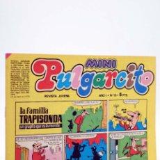 Tebeos: MINI PULGARCITO. REVISTA JUVENIL AÑO 1, Nº 13. 14 DE ABRIL DE 1975 (VVAA) BRUGUERA, 1975. Lote 224010555