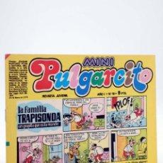 Tebeos: MINI PULGARCITO. REVISTA JUVENIL AÑO 1, Nº 10. 24 DE MARZO DE 1975 (VVAA) BRUGUERA, 1975. Lote 224010560