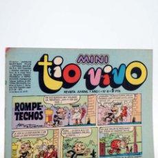Tebeos: MINI TÍO VIVO. REVISTA JUVENIL AÑO 1, Nº 8. 10 DE MARZO DE 1975 (VVAA) BRUGUERA, 1975. Lote 224010561
