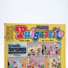 Tebeos: MINI PULGARCITO. REVISTA JUVENIL AÑO 1, Nº 8. 10 DE MARZO DE 1975 (VVAA) BRUGUERA, 1975. Lote 224010566