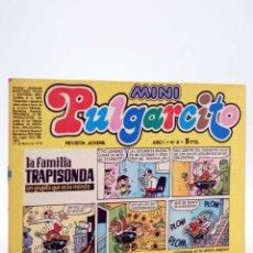 Tebeos: MINI PULGARCITO. REVISTA JUVENIL AÑO 1, Nº 9. 17 DE MARZO DE 1975 (VVAA) BRUGUERA, 1975. Lote 224010576