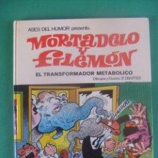 Tebeos: ASES DEL HUMOR Nº 38 MORTADELO Y FILEMON EL TRSFOPRMADOR METABOLICO. BRUGUERA. Lote 224051808