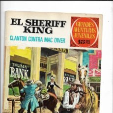 BDs: EL SHERIFF KING AÑO 1971 LOTE DE 6 TEBEOS ORIGINALES SON LOS Nº 14 - 16 - 18 - 22 - 30 - 31 VER FOTO. Lote 224056593