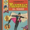 Lote 224070542: POCKET DE ASES MANDRAKE EL MAGO Nº 33 EDITORIAL BRUGUERA