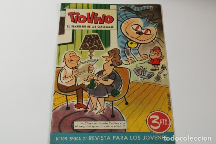 TIO VIVO Nº 109 (Tebeos y Comics - Bruguera - Tio Vivo)