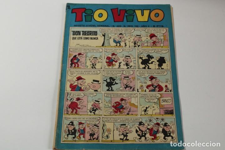 TIO VIVO Nº 329 (Tebeos y Comics - Bruguera - Tio Vivo)