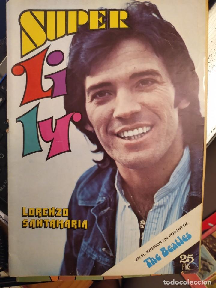 SUPER LILY,: LORENZO SANTAMARÍA, POSTER THE BEATLES,ED. BRUGUERA HOJA PUBLICIDAD FAMOBIL (Tebeos y Comics - Bruguera - Lily)