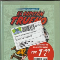 Tebeos: LAS AVENTURAS DEL CAPTIAN TRUENO VOLUMEN 7 PLANETA. SIN ABRIR. Lote 224337483