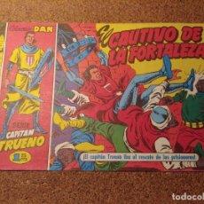 Tebeos: COMIC DEL CAPITAN TRUENO COLECCION DAN EN EL CAUTIVO DE LA FORTALEZA Nº 2. Lote 224353491