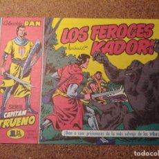 Tebeos: COMIC DEL CAPITAN TRUENO COLECCION DAN EN LOS FEROCES KAIDORI Nº 5. Lote 224354091
