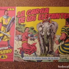 Tebeos: COMIC DEL CAPITAN TRUENO COLECCION DAN EN LA CARGA DE LOS ELEFANTES Nº 7. Lote 224354532
