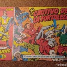 Tebeos: COMIC DEL CAPITAN TRUENO COLECCION DAN EN EL CAUTIVO DE LA FORTALEZA Nº 2. Lote 224356451