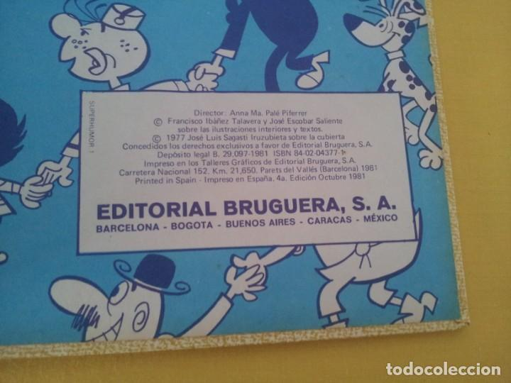 Tebeos: SUPER HUMOR - VOLUMEN I - EDITORIAL BRUGUERA 4ª EDICION OCTUBRE 1981 - Foto 4 - 224356816