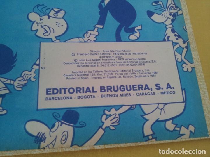 Tebeos: SUPER HUMOR - VOLUMEN IX - EDITORIAL BRUGUERA 3ª EDICION SEPTIEMBRE 1981 - Foto 4 - 224357493